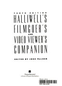 Halliwell s Filmgoer s and Video Viewer s Companion Book PDF