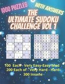The Ultimate Sudoku Challenge Vol 1