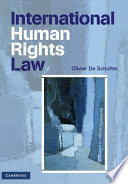 """""""International Human Rights Law: Cases, Materials, Commentary"""" by Olivier De Schutter"""
