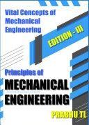 Pdf Principles of MECHANICAL ENGINEERING