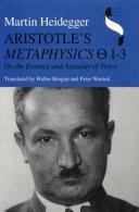 Aristotle's Metaphysics Q 13