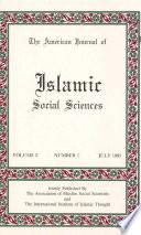 American Journal Of Islamic Social Sciences 2 1
