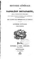 Pdf Histoire Générale de Napoléon Bonaparte