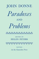 Paradoxes and problems