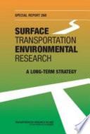 Surface Transportation Environmental Research