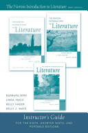 Norton Introduction to Literature 9e Instructor s Manual Book