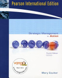 Cover of Strategic Management in Action