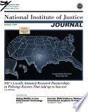 National Institute of Justice Journal