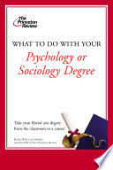 What to do with your psychology or sociology degree