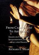 From Caravaggio to Artemisia Book PDF
