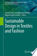 Sustainable Design in Textiles and Fashion Book