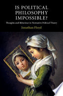 Is Political Philosophy Impossible