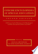 Concise Encyclopedia of Special Education Book PDF