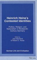 Heinrich Heine s Contested Identities