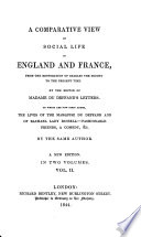 A Comparative View of Social Life in England and France