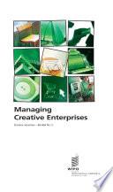 Managing Creative Enterprises