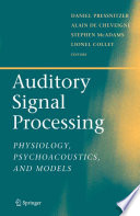 Auditory Signal Processing Book