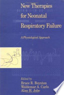 New Therapies For Neonatal Respiratory Failure Book PDF