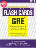 GRE Vocabulary Set  1