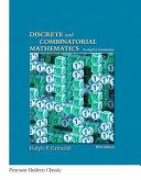 Discrete and Combinatorial Mathematics (Classic Version)