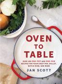 Oven to Table [Pdf/ePub] eBook