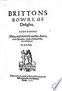Brittons Bowre of Delights