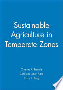 Sustainable Agriculture In Temperate Zones Book PDF