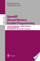 OpenMP Shared Memory Parallel Programming