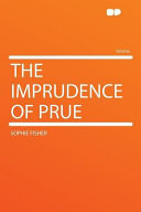 The Imprudence of Prue Book