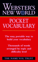 Webster s New World Pocket Vocabulary