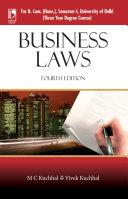Business Laws (For B. Com. (Hons), Sem-I, University of Delhi), 4th Edition Pdf/ePub eBook