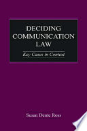 Deciding Communication Law