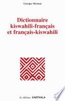 Dictionnaire Kiswahili-francais Et Francais-kiswahili