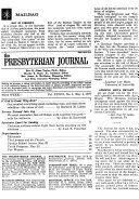 The Presbyterian Journal