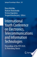 International Youth Conference on Electronics  Telecommunications and Information Technologies