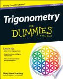 List of Dummies Trigonometry E-book