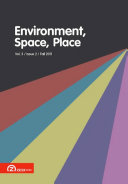 Environment, Space, Place - Volume 3, Issue 2 (Fall 2011) Book