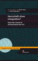 Herrschaft ohne Integration