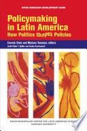 Policymaking in Latin America