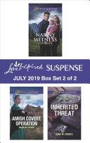 Harlequin Love Inspired Suspense July 2019 - Box Set 2 of 2 Pdf/ePub eBook