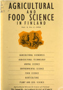 Agricultural and Food Science in Finland