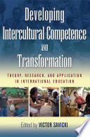 Developing Intercultural Competence and Transformation Book PDF