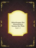 Pdf Mitteilungen Des Historischen Vereins Der Pfalz Telecharger