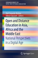 Open and Distance Education in Asia  Africa and the Middle East