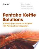 Pentaho Kettle Solutions Book