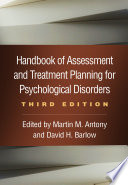 Handbook of Assessment and Treatment Planning for Psychological Disorders  Third Edition Book PDF