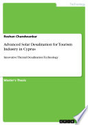Advanced Solar Desalination for Tourism Industry in Cyprus