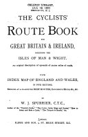 The cyclists  route book for Great Britain   Ireland