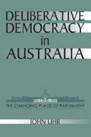 Deliberative Democracy in Australia