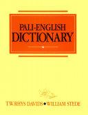 Pali English Dictionary